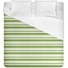 Spring Stripes Duvet Cover (king Size)