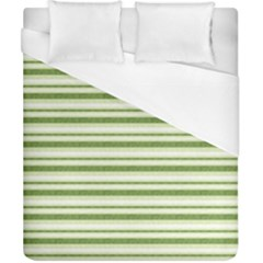 Spring Stripes Duvet Cover (california King Size)