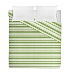 Spring Stripes Duvet Cover Double Side (full/ Double Size)