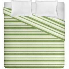 Spring Stripes Duvet Cover Double Side (king Size)