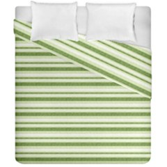 Spring Stripes Duvet Cover Double Side (california King Size)