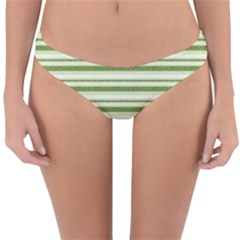 Spring Stripes Reversible Hipster Bikini Bottoms