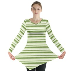 Spring Stripes Long Sleeve Tunic