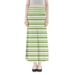 Spring Stripes Full Length Maxi Skirt