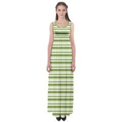 Spring Stripes Empire Waist Maxi Dress