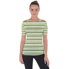 Spring Stripes Short Sleeve Top