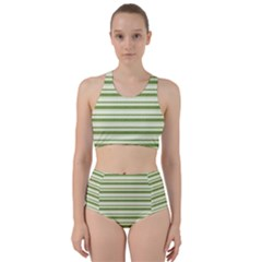 Spring Stripes Bikini Swimsuit Spa Swimsuit