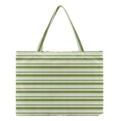Spring Stripes Medium Tote Bag
