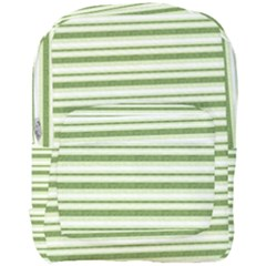 Spring Stripes Full Print Backpack