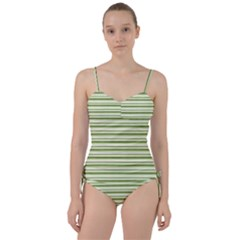 Spring Stripes Sweetheart Tankini Set
