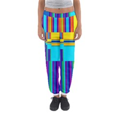 Colorful Endless Window Women s Jogger Sweatpants