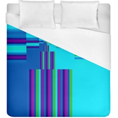 Colorful Endless Window Duvet Cover (king Size)