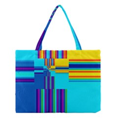 Colorful Endless Window Medium Tote Bag