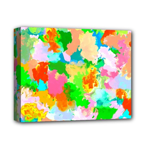 Colorful Summer Splash Deluxe Canvas 14  X 11