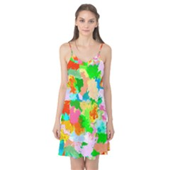 Colorful Summer Splash Camis Nightgown