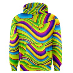 Summer Wave Colors Men s Pullover Hoodie