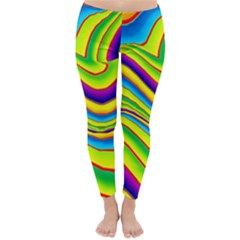 Summer Wave Colors Classic Winter Leggings