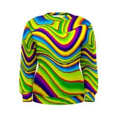 Summer Wave Colors Women s Sweatshirt