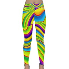 Summer Wave Colors Classic Yoga Leggings