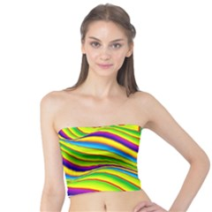 Summer Wave Colors Tube Top