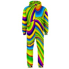 Summer Wave Colors Hooded Jumpsuit (men)
