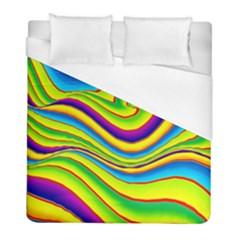 Summer Wave Colors Duvet Cover (full/ Double Size)