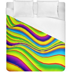 Summer Wave Colors Duvet Cover (california King Size)
