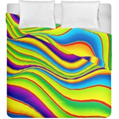 Summer Wave Colors Duvet Cover Double Side (king Size)
