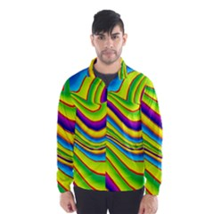 Summer Wave Colors Wind Breaker (men)