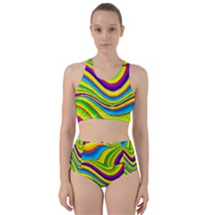 Summer Wave Colors Bikini Swimsuit Spa Swimsuit