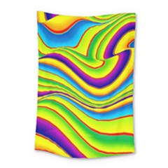 Summer Wave Colors Small Tapestry