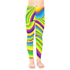 Summer Wave Colors Kids  Legging