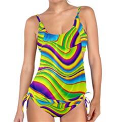 Summer Wave Colors Tankini Set