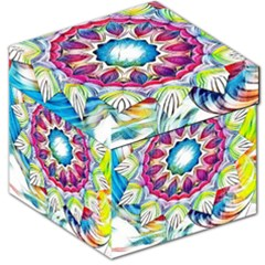 Sunshine Feeling Mandala Storage Stool 12