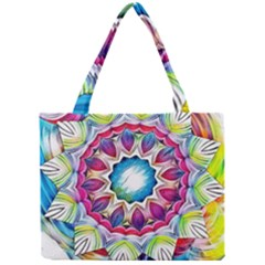 Sunshine Feeling Mandala Mini Tote Bag