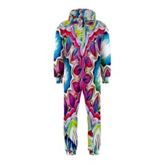 Sunshine Feeling Mandala Hooded Jumpsuit (kids)