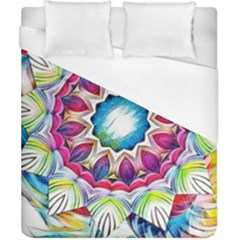 Sunshine Feeling Mandala Duvet Cover (california King Size)