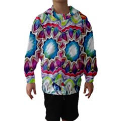 Sunshine Feeling Mandala Hooded Wind Breaker (kids)