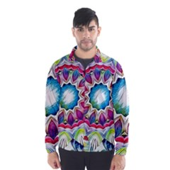 Sunshine Feeling Mandala Wind Breaker (men)
