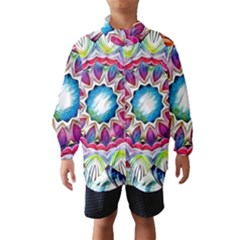 Sunshine Feeling Mandala Wind Breaker (kids)