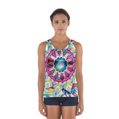 Sunshine Feeling Mandala Sport Tank Top