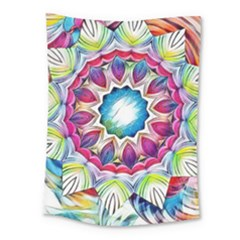 Sunshine Feeling Mandala Medium Tapestry