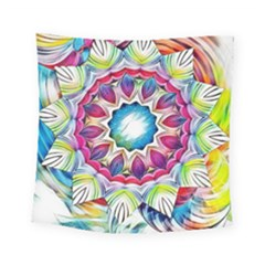 Sunshine Feeling Mandala Square Tapestry (small)