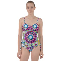 Sunshine Feeling Mandala Sweetheart Tankini Set