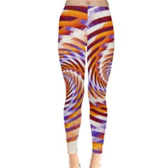 Woven Colorful Waves Leggings