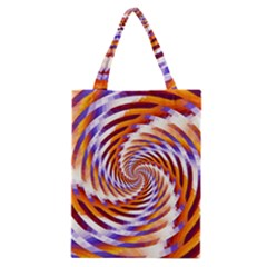Woven Colorful Waves Classic Tote Bag