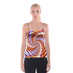 Woven Colorful Waves Spaghetti Strap Top