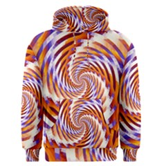 Woven Colorful Waves Men s Pullover Hoodie