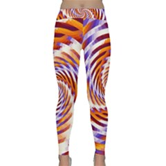 Woven Colorful Waves Classic Yoga Leggings