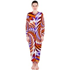 Woven Colorful Waves Onepiece Jumpsuit (ladies)